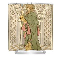 St Matthias Shower Curtain by English School