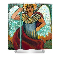 St. Michael The Archangel Shower Curtain