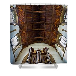 St Michael's Church Framlingham Shower Curtain