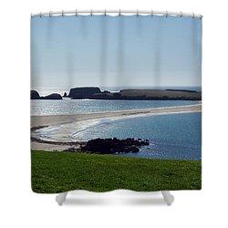 St Ninian's Isle Shetland Shower Curtain