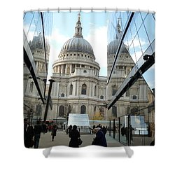 St Paul's Reflected Shower Curtain