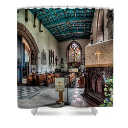 St Peters Shower Curtain by Adrian Evans