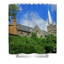 St. Peters Roman Catholic Church In Harpers Ferry Shower Curtain