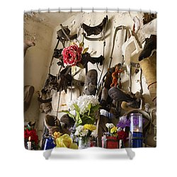 New Orleans St Roch Cemetery Shower Curtain