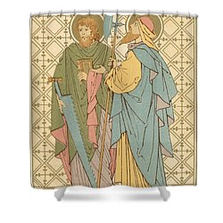 St Simon And St Jude Shower Curtain by English School