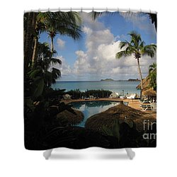 St Thomas II Shower Curtain