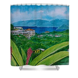 St. Thomas Virgin Islands Shower Curtain