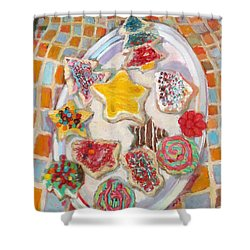 St003 Shower Curtain