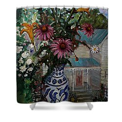 St010 Shower Curtain