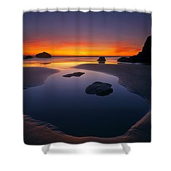 Stacks And Stones Shower Curtain