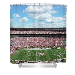Stadium Panorama View Shower Curtain