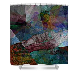 Stained Glass I Shower Curtain