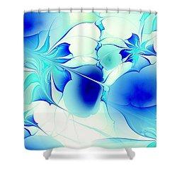 Stained Glass Shower Curtain by Anastasiya Malakhova