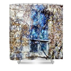 Stained Glass Grace - Church Window Shower Curtain