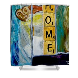 Stained Glass Home Shower Curtain