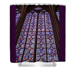 Stained Glass Magnificence Shower Curtain by Ann Horn