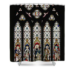 Stained-glass Window 1 Shower Curtain by Susie Peek