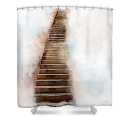 Stair Way To Heaven Shower Curtain