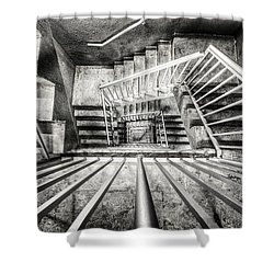 Staircase I Shower Curtain by Everet Regal