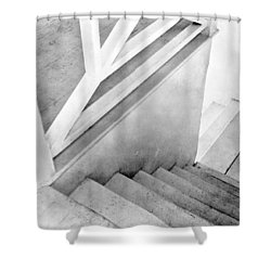 Staircase, Mexico City, C.1924 Shower Curtain by Tina Modotti
