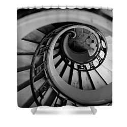 Staircase Shower Curtain by Sebastian Musial