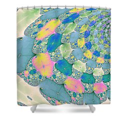 Staircase To Heaven Shower Curtain by Angela A Stanton