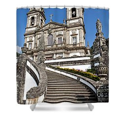 Staircase To Heaven Shower Curtain by Jose Elias - Sofia Pereira