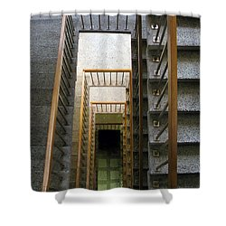 Stairs Shower Curtain by Ausra Huntington nee Paulauskaite