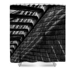 Shower Curtain featuring the photograph Stairs by David Patterson