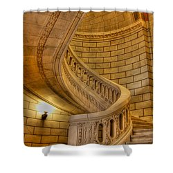 Stairs Of Mythical Proportion Shower Curtain by David Bearden