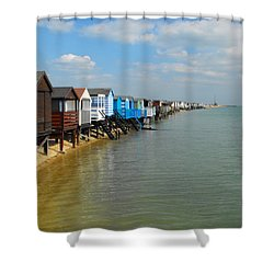 Stairs To Sea Shower Curtain