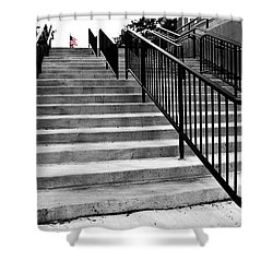 Stairway To Freedom Shower Curtain