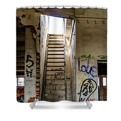 Stairway To Heaven? I Don't Think So... Shower Curtain