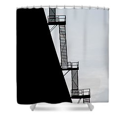 Stairway To Heaven Shower Curtain by Tikvah's Hope