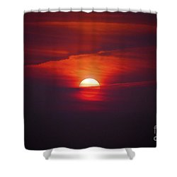 Stairway To Heaven Shower Curtain by Terri Waters