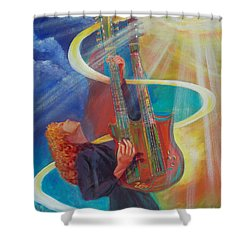Stairway To Heaven Shower Curtain by To-Tam Gerwe