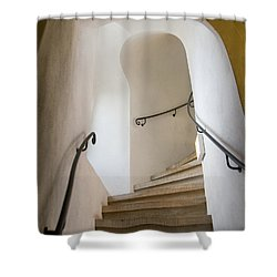 Stairway To Heaven Shower Curtain by William Beuther
