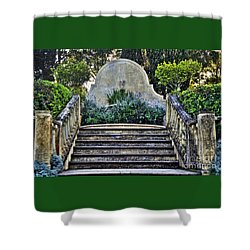 Stairway To Nowhere Shower Curtain by Kaye Menner