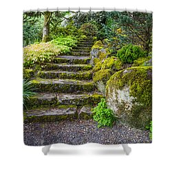 Stairway To The Secret Garden Shower Curtain
