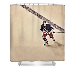 Stallzy Shower Curtain by Karol Livote