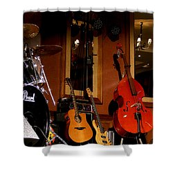 Shower Curtain featuring the photograph Stand By by Nina Ficur Feenan