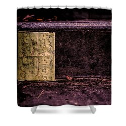 Stand Or Not Stand Shower Curtain by Bob Orsillo