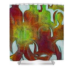 Standing Ovation 2 Shower Curtain by Jack Zulli