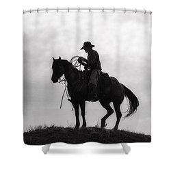 Standing Watch 2013 Shower Curtain