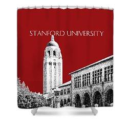 Stanford University - Dark Red Shower Curtain