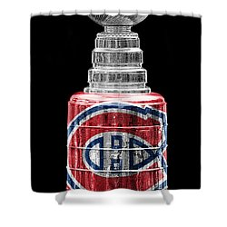 Stanley Cup 7 Shower Curtain by Andrew Fare