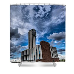 Stapleton International Airport Shower Curtain