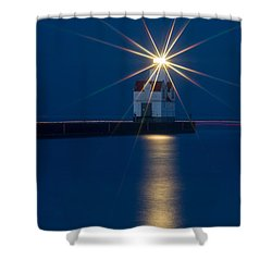 Star Bright Shower Curtain by Bill Pevlor
