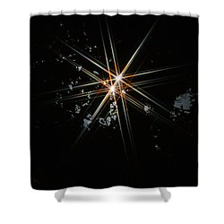 Star Bright Shower Curtain by Donna Blackhall