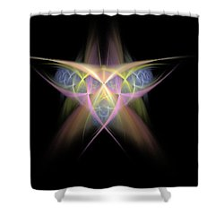 Star Shower Curtain by Bruce Nutting